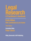 Legal Research: A Practitioner's Handbook - Book
