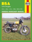BSA Unit Singles (58 - 72) - Book