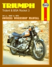 Triumph Trident & BSA Rocket 3 (69 - 75) - Book