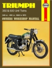 Triumph 350 & 500 Unit Twins (58 - 73) - Book