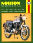 Norton 500, 600, 650 & 750 Twins (57 - 70) - Book
