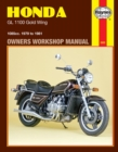 Honda Gl1100 Gold Wing (79 - 81) - Book