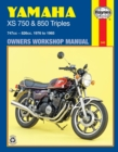 Yamaha Xs750 & 850 Triples (76 - 85) - Book