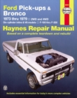 Ford Pick Ups & Bronco (73 - 79) - Book