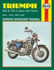 Triumph 650 & 750 2-Valve Unit Twins (63 - 83) - Book