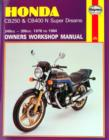 Honda CB250 & CB400N Super Dreams (78 - 84) - Book