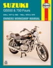 Suzuki Gs550 (77 - 82) & Gs750 Fours (76 - 79) - Book