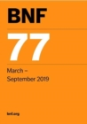 BNF 77 (British National Formulary) March 2019 - Book
