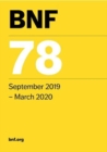 BNF 78 (British National Formulary) September 2019 - Book