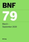 BNF 79 (British National Formulary) March 2020 - Book