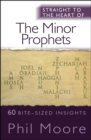 Straight to the Heart of The Minor Prophets : 60 bite-sized insights - Book