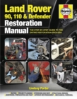 Land Rover 90, 110 & Defender Restoration Manual : Step-by-step guidance for owners and restorers - Book