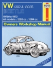 VW 1302S Super Beetle Owner's Workshop Manual - Book