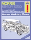 Morris Minor 1000 Owner's Workshop Manual - Book