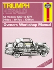 Triumph Herald Owner's Workshop Manual - Book