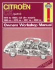 Citroen CX Owner's Workshop Manual - Book