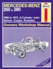 Mercedes-Benz 250 & 280 - Book