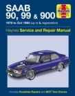 Saab 90, 99 & 900 Service And Repair Manual - Book
