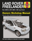 Land Rover Freelander (Nov 06 - 14) 56 To 64 - Book
