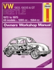 VW Beetle 1303, 1303S & GT Petrol (72 - 75) - Book