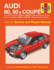 Audi 80, 90 & Coupe - Book