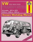 VW Transporter 1700/1800/2000 - Book