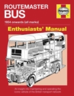 Routemaster Bus Owners' Workshop Manual Paperback - Book