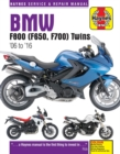 BMW F800 (F650, F700) Twins (06 - 16) Update - Book