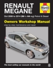 Renault Megane (Oct '08-'14) 58 To 64 - Book