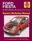 Ford Fiesta Petrol & Diesel Apr 02 - 08 (02 to 58 reg) - Book