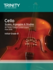 Cello Scales, Arpeggios & Studies Initial-Grade 8 from 2016 - Book