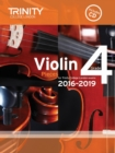 Violin Exam Pieces Grade 4 2016-2019 - Book