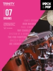 Trinity College London Rock & Pop 2018 Drums Grade 7 CD Only - Book