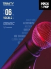Trinity College London Rock & Pop 2018 Vocals Grade 6 CD Only - Book
