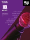 Trinity College London Rock & Pop 2018 Vocals Grade 8 CD Only - Book