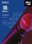 Trinity College London Rock & Pop 2018 Vocals Grade 6 - Book