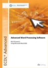 ECDL Advanced Word Processing Software Using Word 2016 (BCS ITQ Level 3) - Book