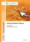 ECDL Advanced Database Software Using Access 2016 (BCS ITQ Level 3) - Book