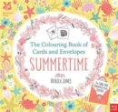 National Trust: The Colouring Book of Cards and Envelopes - Summertime - Book