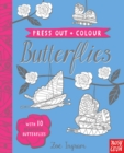 Press Out and Colour: Butterflies - Book