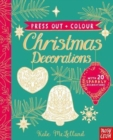 Press Out and Colour: Christmas Decorations - Book