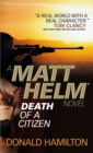 Matt Helm - Death of a Citizen - eBook