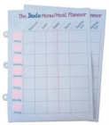 Dodo Pad Weekly Wipe-Clean Menu / Meal Planner : Suitable for Dodo Pad, Acad-Pad Desk Diaries and Dodo Blank Book - Book