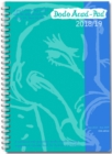 Dodo Acad-Pad A5 Diary 2018-2019 - Mid Year / Academic Year Week to View Diary (Special Purchase) : A combined doodle-memo-message-engagement-calendar-organiser-planner for students and teachers - Book