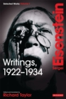 Writings, 1922-1934 : Sergei Eisenstein Selected Works, Volume 1 - eBook