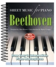 Ludwig Van Beethoven: Sheet Music for Piano : From Easy to Advanced; Over 25 Masterpieces - Book
