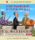 Lord Emsworth Acts for the Best - Book
