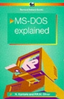 MS-DOS 6 Explained - Book
