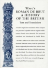 Wace's Roman De Brut : A History Of The British (Text and Translation) - Book