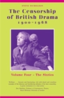 The Censorship of British Drama 1900-1968 Volume 4 : The Sixties - eBook
